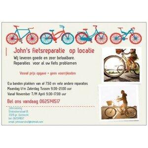 John's fietsreparatie op lokatie logo