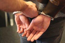 Gezochte crimineel loopt zo in armen politie