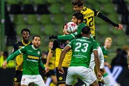 FC Dordrecht gelijk tegen Roda JC