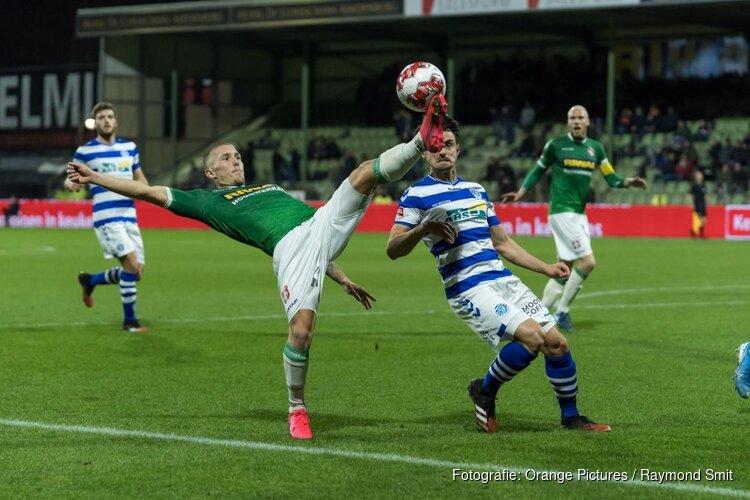 FC Dordrecht nipt onderuit tegen De Graafschap