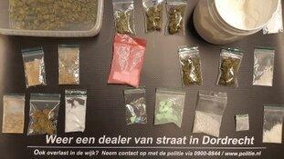Drugsdealers aangehouden in Dordrecht