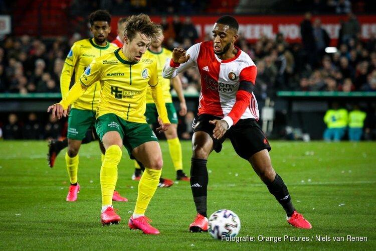 Feyenoord nipt langs Fortuna Sittard