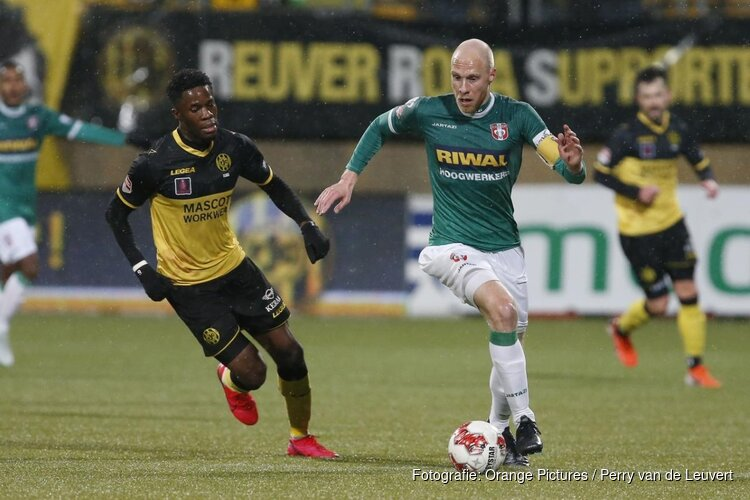 FC Dordrecht krijgt pak slaag in Kerkrade