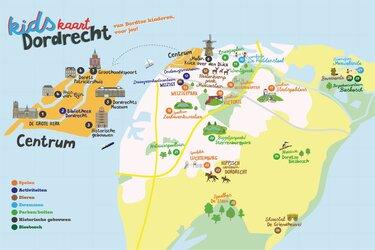 Dordtse schoolkinderen presenteren kaart met kindvriendelijke plekken